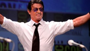 The man, the myth, the legend -- and very much still alive thankyouverymuch -- Sly Stallone!