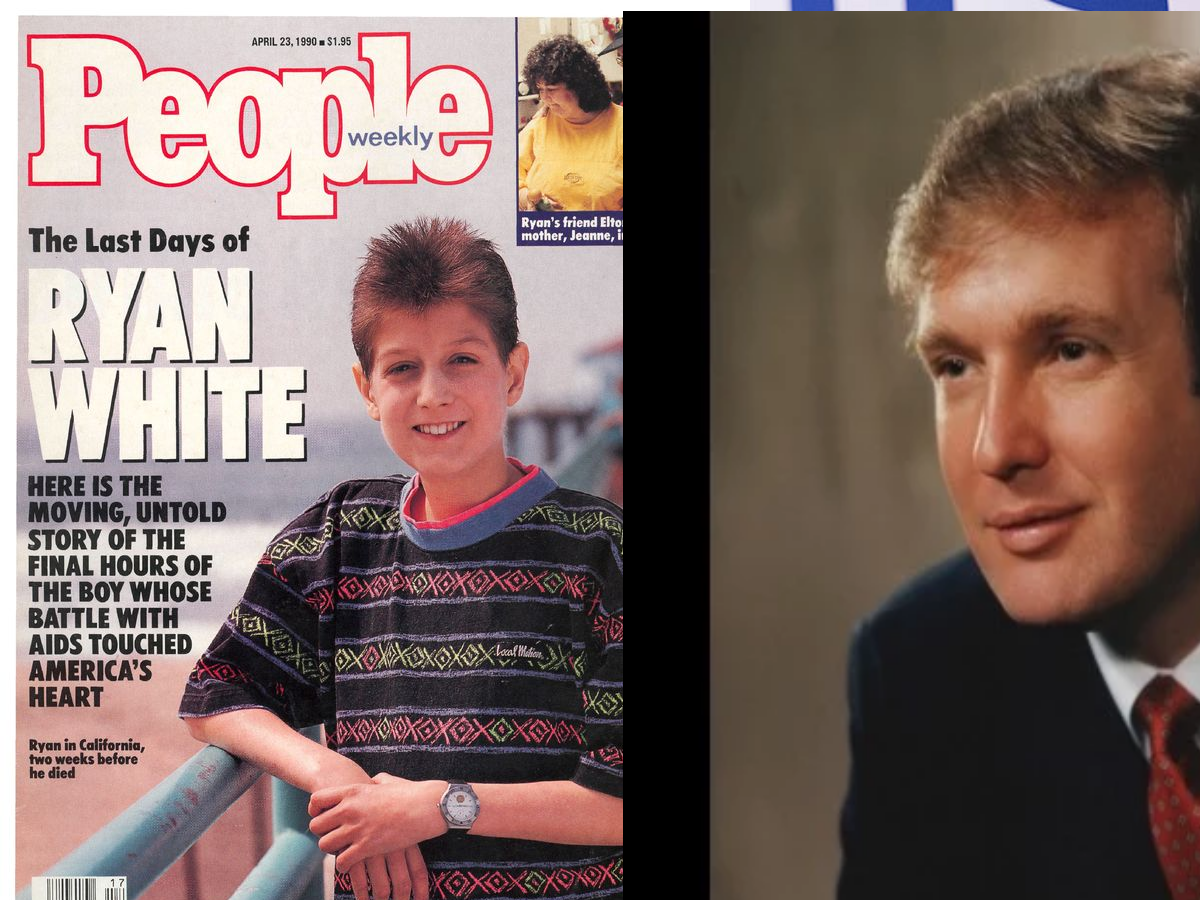 No he didn't and no we weren't: Uncovered: Trump Saved Indiana Boy's Life In 1984, Voters Touched
