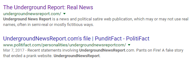 undergroundnewsreport.com - satire